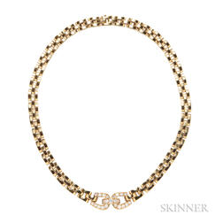 18kt Gold and Diamond Necklace, Cartier