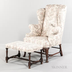 Queen Anne Easy Chair