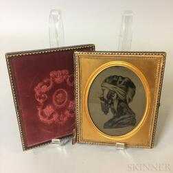 "Cased Ambrotype of ""La Turk,"""