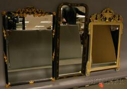 Three Decorative Mirrors