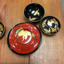 Nineteen Lacquered Bowls
