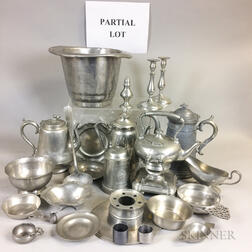 Large Group of Pewter