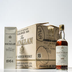 Macallan 17 Years Old 1964, 12 750ml bottles (oc)