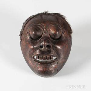 Java Dance Theatre Mask, Topeng