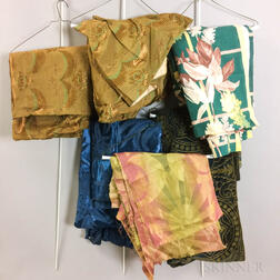 Group of Art Deco Textiles