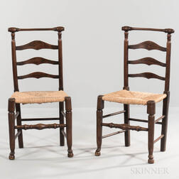 Set of Eight Macclesfield Side Chairs