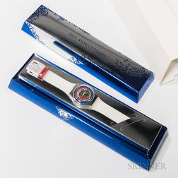 "25th Anniversary Swatch ""This is my World"" Watch"