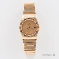 Omega 18kt Gold Constellation Quartz Wristwatch