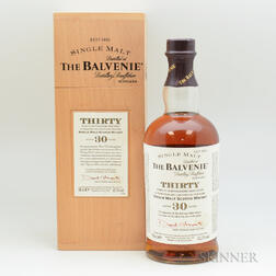 Balvenie 30 Years Old, 1 70cl bottle (owc)