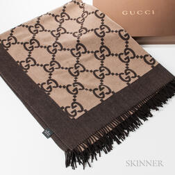 Gucci Throw Blanket with Box