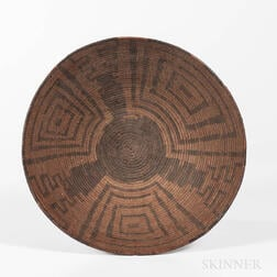 Large Pima Basketry Bowl