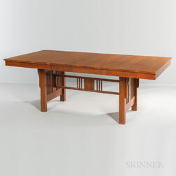 Mission-style Oak Table