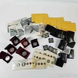 Group of Canadian Mint and Proof Coins and Sets