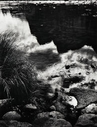 Ansel Adams (American, 1902-1984)      Merced River, Reflection, Yosemite National Park