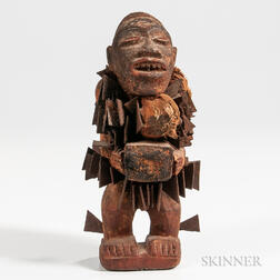 Small Congo Fetish Figure