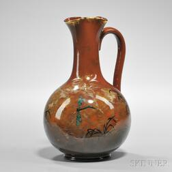 Matthew A. Daly (1860-1937) Rookwood Pottery Pitcher