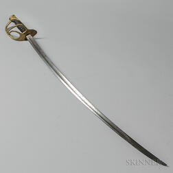 Model 1860 Cavalry Saber Marked to the Eighth Cavalry