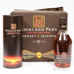 Highland Park 12 Years Old, 6 750ml bottles (oc)