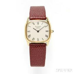 14kt Gold Wristwatch, Concord, Retailed by Van Cleef & Arpels