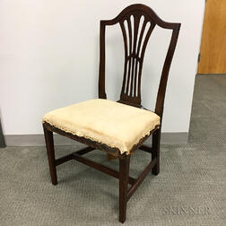 Federal Mahogany Side Chair