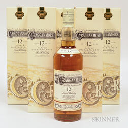 Cragganmore 12 Years Old, 5 750ml bottles (ot)