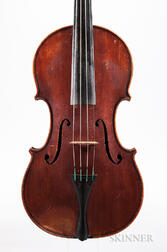 Italian Violin and Bow, Eugenio Praga, Genoa, 1892