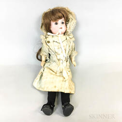 Small Armand Marseille Bisque Head Doll
