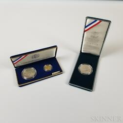Three American Commemorative Coins