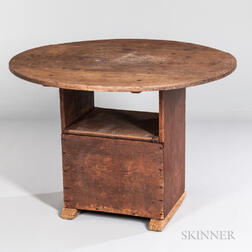 Small Pine Hutch Table