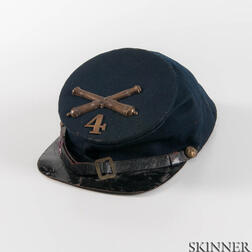 U.S. Model 1858 Artillery Forage Cap