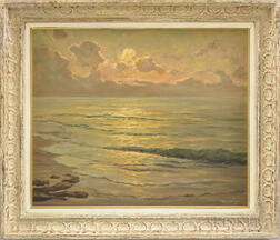William Columbus Ehrig (American, 1892-1973)      Sunrise over the Water