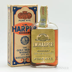 IW Harper Pure Rye 1917, 1 pint bottle (oc)