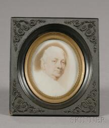 Portrait Miniature of American Revolutionary General Henry Knox