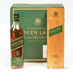 Johnnie Walker Green Label 15 Years Old, 6 750ml bottles (oc)