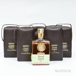 Grand Award Canadian 15 Years Old 1957, 5 4/5 quart bottles