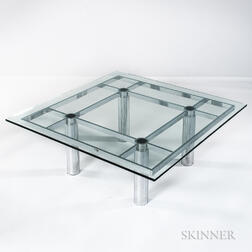 Tobia Scarpa Andre Glass Coffee Table