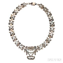 Sterling Silver Necklace, Los Ballesteros