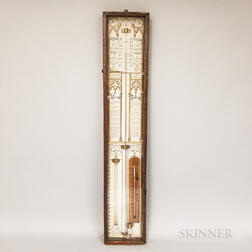 Reproduction Admiral Fitzroy's Barometer