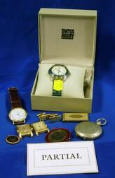 Group of Men's Watches and Dress Articles