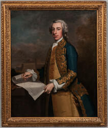 John Wollaston (New York/South Carolina/England, 1710-1775)      Portrait of the Honorable Edward Byng, Esquire, 1742