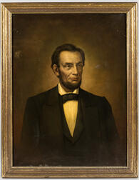 American School, 19th Century       Portrait of Abraham Lincoln