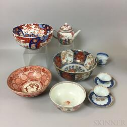 Small Group of Export Porcelain Tableware