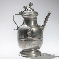 German Pewter Drinking Vessel
