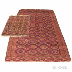 Two Turkoman Rugs.     Estimate $600-800