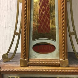 "Chelsea Patent Timepiece or ""Banjo"" Wall Clock"
