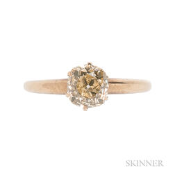 14kt Gold and Diamond Ring
