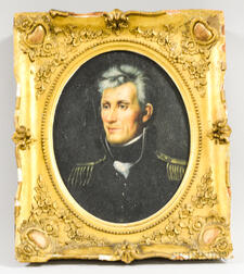 American School, 20th Century       Portrait of Andrew Jackson