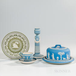 Four Wedgwood Jasper Dip Items