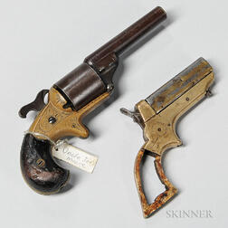 Two Spur Trigger Pistols