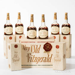 Ver Very Old Fitzgerald 15 Years Old 1955, 6 4/5 quart bottles (oc)